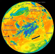 Weather satellite data from 1966
