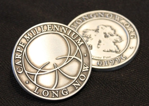 Long Now Challenge Coin