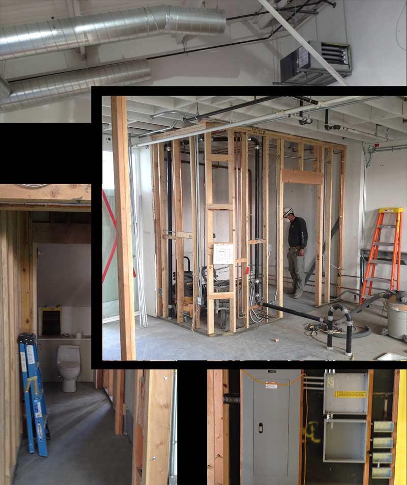Long Now Salon construction