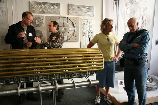 Long Now Chime Generator Museum 02006 Scott Beale