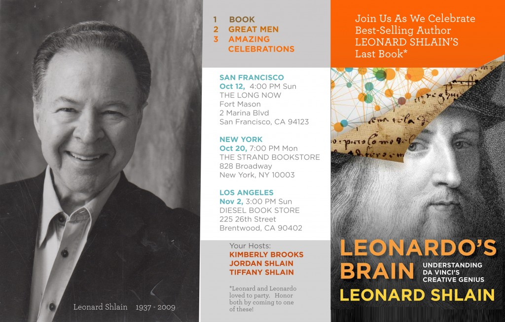 Leonardo's Brain Book Parties