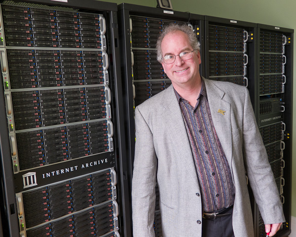 Brewster Kahle and the Archive servers
